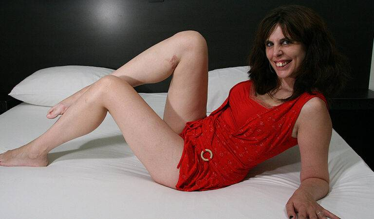 Horny housewife loves her dildo and shows off her hot dancing skills